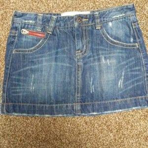 WHO.A.U Jean skirt